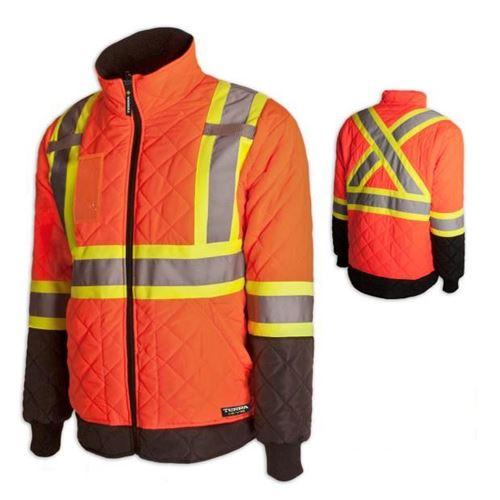 Picture of TERRA® Hi-Vis Lined Orange Freezer Jacket