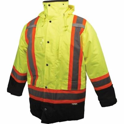Picture of TERRA® Hi-Vis Yellow Parka