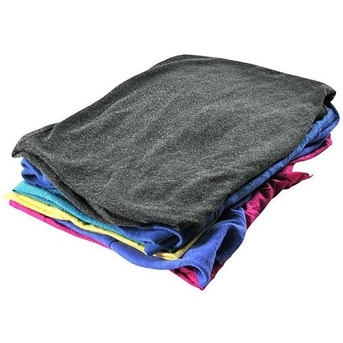 Picture of Wipe-It Coloured T-Shirt Wipers - 25 lbs. Recycled Box