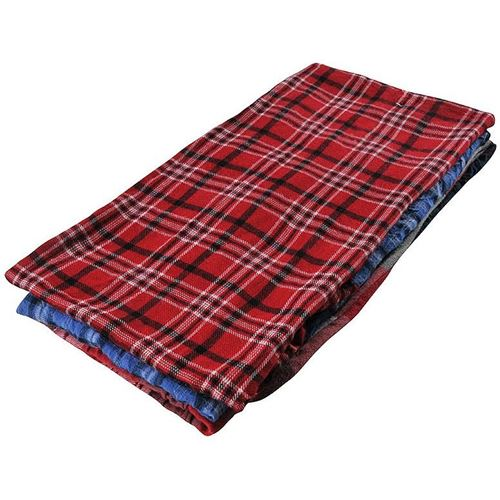 Picture of Wipe-It Recycled Coloured Cotton Flannel Wipers - 8lbs. Compressed Bale