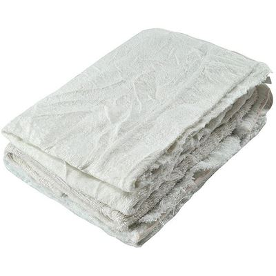 Picture of Wipe-It Recycled White Terry Wipers - 25 lbs. Recycled Box