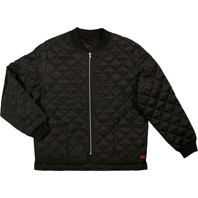 Picture of Tough Duck WJ25 Black Quilted Freezer Jacket