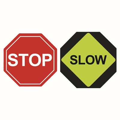 Picture of Traffic Stop/Slow Paddles