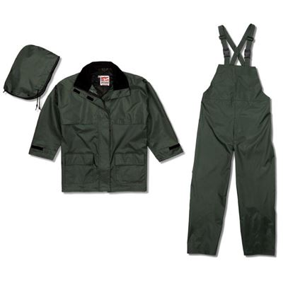 Picture of Viking® 2900G Series Forest Green Open Road 150D Rip Stop 3 Piece Rain Suit