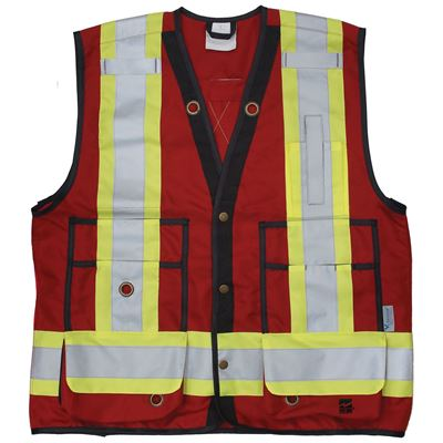 Picture of Viking® 6165 Series Red Open Road® Surveyor Vest