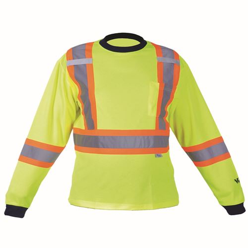 Picture of Viking® Green 6015 Safety Cotton Lined Long Sleeve Shirt