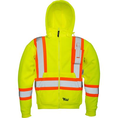 Picture of Viking® Green 6420 Safety Fleece Hoodie