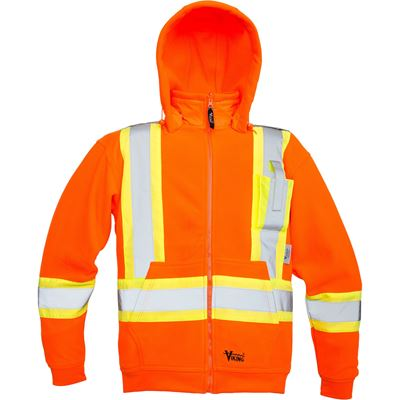 Picture of Viking® Orange 6420 Safety Fleece Hoodie