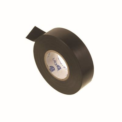 "Picture of Vista Black PVC Electrical Tape - 3/4"" x 66'"