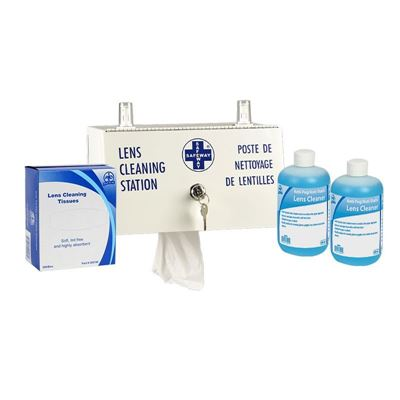 Picture of Wasip Metal Lens Cleaning Station with Key and Lock