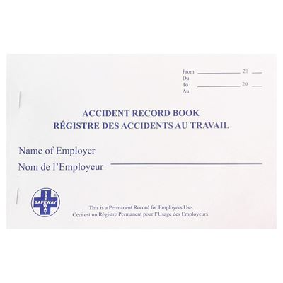 Picture of Accident Record Book