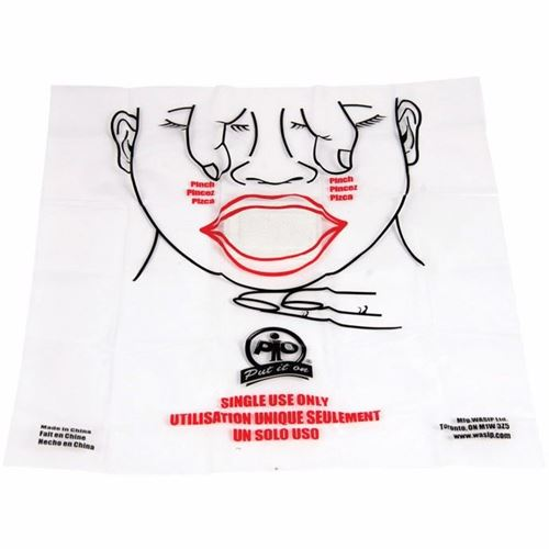 Picture of Wasip CPR-Aid Disposable Shield - Single Use