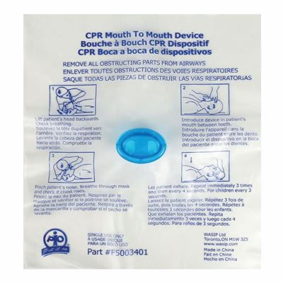 Picture of Wasip CPR-Aid Rescuer Device - Single Use