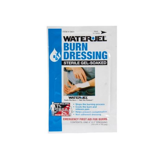 "Picture of Wasip Water Jel Burn Dressing - 4"" x 4"""