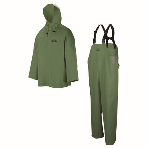 Picture of Wasip 801 Series Green Hurricane Rain Suit