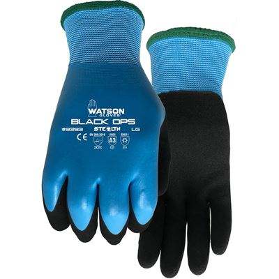 Picture of Watson 9393 Stealth Black Ops Coated Winter Gloves