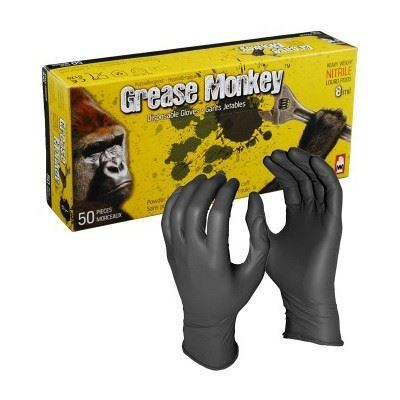 Picture of Watson Grease Monkey™ Black Nitrile Gloves
