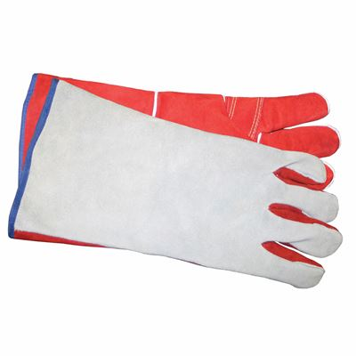 Picture of Wayne Safety Red/Grey Split Back Welders with Extra Palm Patch - One Size