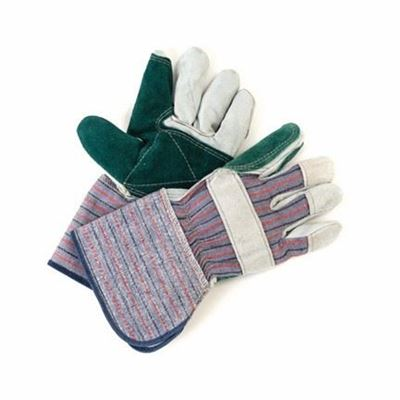 """Picture of Wayne Safety Split Rigger Double Palm Gloves with 4"""" Cuff - One Size"""