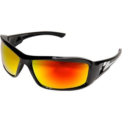 Picture of Edge Brazeau Safety Eyewear - Aqua Precision Red Mirror Lens