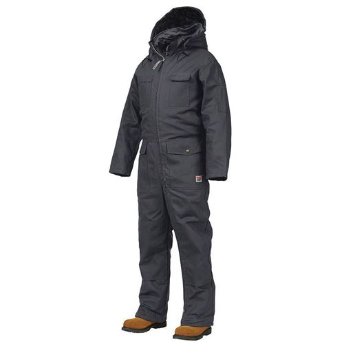 Work King 174 7760 Black Deluxe Insulated Coveralls Macmor