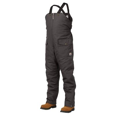 Picture of Work King® 7930 Black Insulated Bib Overalls