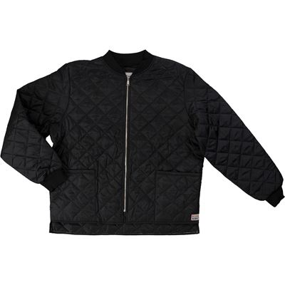 Picture of Work King® Black I7X921 Quilted Freezer Jacket