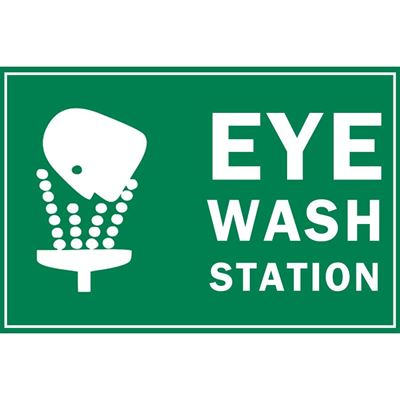 Picture of Eye Wash Station Sign
